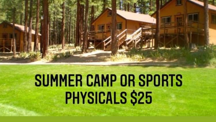 Summer Camp Physicals